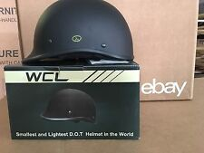 WCL Polo WORLD'S SMALLEST LIGHTEST DOT BEANIE HELMET MATTE BLACK  Medium
