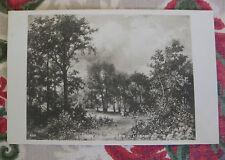 "CPA tableau Salon peinture 1906 Jacomin "" L'orage"" prairie vache campagne"