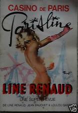 @ REVUE LINE RENAUD, LOULOU GASTE PARISLINE, NU DE L' ILLUSTRATEUR BRENOT PIN UP