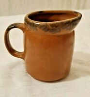 Collectible VINTAGE MCCOY Pottery  #1414 Creamer Mesa Brown FREE SHIPPING Gift