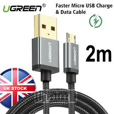 5V2A Micro USB Cable Ugreen Fast Charging Mobile Phone USB Charger Cable Android