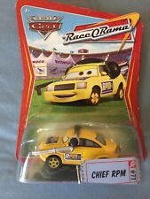 """Diecast Car From Pixar's """"Cars"""" Movie: """"Chief RPM"""" (New In The Box)"""
