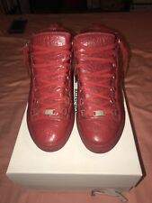 Balenciaga Arena Mens Size 43 ROUGE BRAISE RED