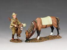 King & Country AL079 Preparing to Saddle-Up MIB