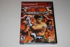 Tekken 5 Sony Playstation 2 PS2 Video Game New Sealed