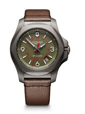 Victorinox I.N.O.X. Titanium (241779) Men's Wristwatch with Green Dial