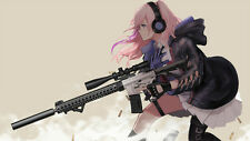 Anime Girls Frontline Silk Poster Wallpaper 24 X 13 inch