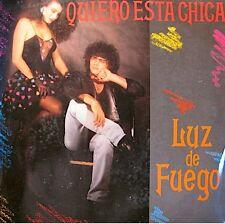 ++LUZ DE FUEGO quiero esta chica SP 1990 PUBLIC RARE EX++