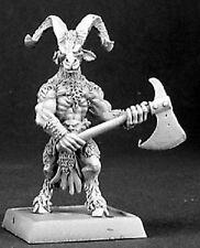 Beastman Woodcutter Reven Reaper Miniatures Warlord D&D RPG Demon Minotaur Melee