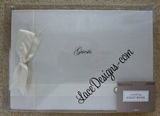 Ivory Gartner Wedding Bridal Anniversary Guest Book