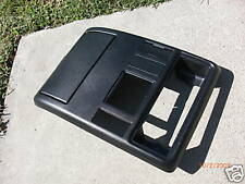 (2001-2003) BMW E53 X5 HomeLink overhead console panel trim 3.0i 4.4i 4.6is BLK
