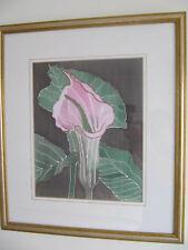 Imagen De Flores De Seda Original por Rosie Nicholson en muy buena condición