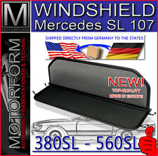Mercedes SL 107 Windstop Wind Deflector Windbreak Windshield 380SL 450SL 560SL