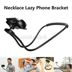 Baseus Necklace Lazy Bracket Neck Hanging Phone Tablet Holder For iPhone X/8