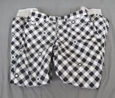 Burton Quality Black & White Checked Waterproof Breathable Shell Pants Women's S