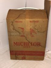 Vintage Michelob Beer 2 Gallon Insulated Cooler/Ice Chest Amoco Chemical Corp.