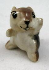 Hagen Renaker miniature made in America Chipmunk baby seated retired