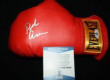Bob Arum signed boxing glove, Ali, Pacquiao, Top Rank, Proof, Beckett BAS