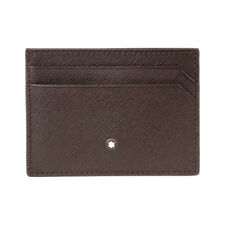 Montblanc Sartorial Men's Small Leather Pocket Card Holder 5CC 114604