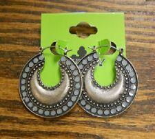 Gypsy Soule Silver Crescent Moon Earrings!!! NEW!!!