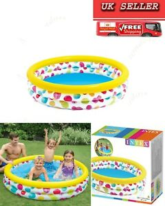 Intex Paddling Swimming Pool  Garden Inflatable Baby Toddler Oval