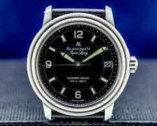 Blancpain Leman Aqualung Ultra Slim Automatic SS / Strap WITH BOX