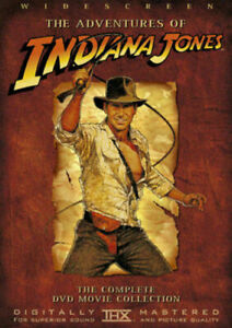 The Adventures Of Indiana Jones Movie Collection Dvd Harrison Ford New Sealed