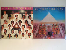 Earth Wind and Fire Vinyl LP All n All 1977 and Faces 1979
