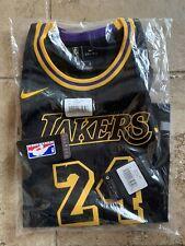 Los Angeles LA Lakers Nike Kobe Bryant Black Mamba Day Size Kids Medium #24 M