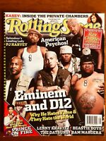ROLLING STONE AUST AUG '04 Eminem, D12 Ray Charles Prince Beastie Boys PJ Harvey