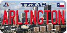 Arlington TX Novelty Car License Plate P01