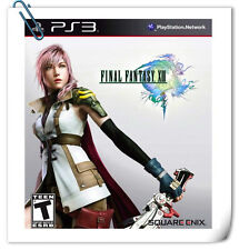 PS3 Final Fantasy XIII FF SONY PLAYSTATION GAMES Square Enix RPG