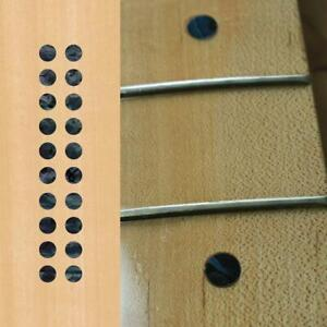 Dots black pearl Guitar Fret board Markers Inlay stickers