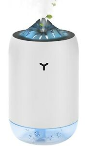 MUGUT Luftbefeuchter,Mini USB Ultraschall Humidifier 260ml,Aroma Diffuser
