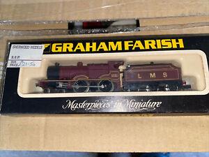 N gauge Graham Farish LMS 4p Class Tender Maroon  steam locomotive-1201.