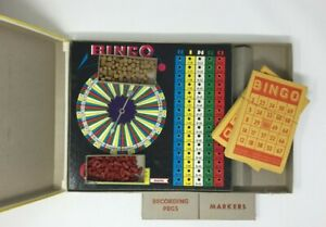 Vintage Bingo Game Built Rite No 116 Complete set in original box - 98 Cents