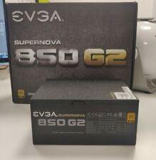 6pin PCIe a 8pin PSU Alimentatore EVGA G2 T2 P2 60cm NERO CON GUAINA Regno Unito