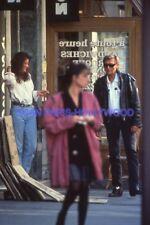 JOHNNY HALLYDAY 90s DIAPOSITIVE DE PRESSE ORIGINAL SLIDE #180