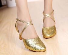 Womens Mary Jane Lolita Latin Dance Strappy Heels Fashion Pumps Shoes ALL US Sz