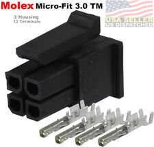 MOLEX 3.0 ATX /EPS PCI-E (4 Circuits) 4 Pins Male Power Connector terminal 5-SET