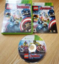 LEGO Marvel's Avengers - Microsoft Xbox 360 Video Game COMPLETE in Original Case