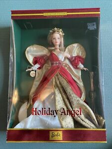 2001 Barbie Collectors Edition Holiday Angel