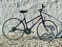 Trek 700 Multi-Track Bike!~Commuter~21 Speed~43 cm Frame~700C~Vintage~Purple~