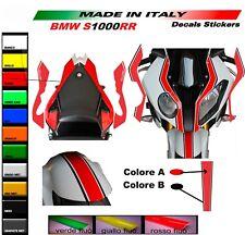 Kit adesivi personalizzati per BMW S1000RR Bicolore