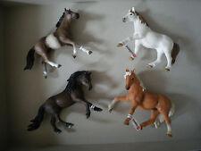 Schleich 4 limitierte Pferde als Sondermodelle Sonderedition 2012 Müller