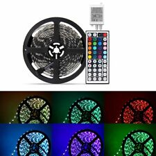 SUPERNIGHT™ RGB 5M 5050SMD Waterproof 300 LED Strip Light Black PCB + Controller
