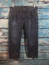 50C👖Levi's 569 Medium Wash Straight Mens Jeans 34x30 Measurers 34x29