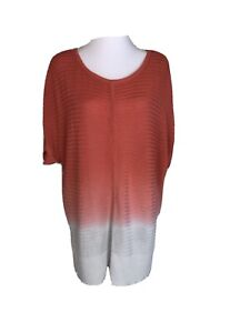 Blue Illusion Ladies Size 3L or 20 Long Top Excellent As New Condition