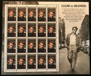 1996 Scott #3082 - 32¢ James Dean - Legends of Hollywood - Sheet of 20 - Mint NH