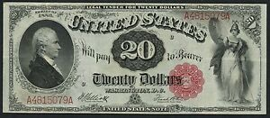 FR147 $20 LEGAL TENDER 1880 SERIES ELLIOTT / WHITE WLM3143